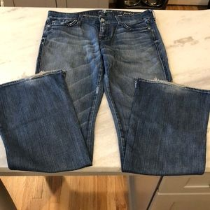 7 For All Mankind A Pocket Flare